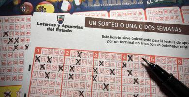 papeletas premio loteria