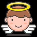 angel decimo lotería de Navidad