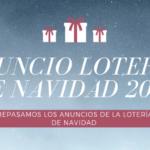 anuncio Lotería de Navidad