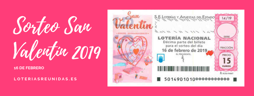 Sorteo Extraordinario De San Valentín 2019 Blog Telesuerte